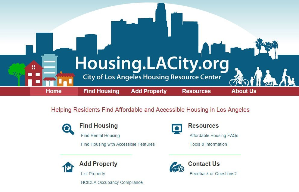 City Of Los Angeles Housing Application