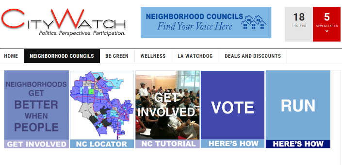 CityWatch Launches Neighborhood Council Election Portal