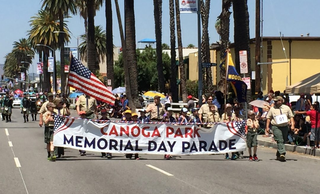 Photos from the Canoga Park Memorial Day Parade